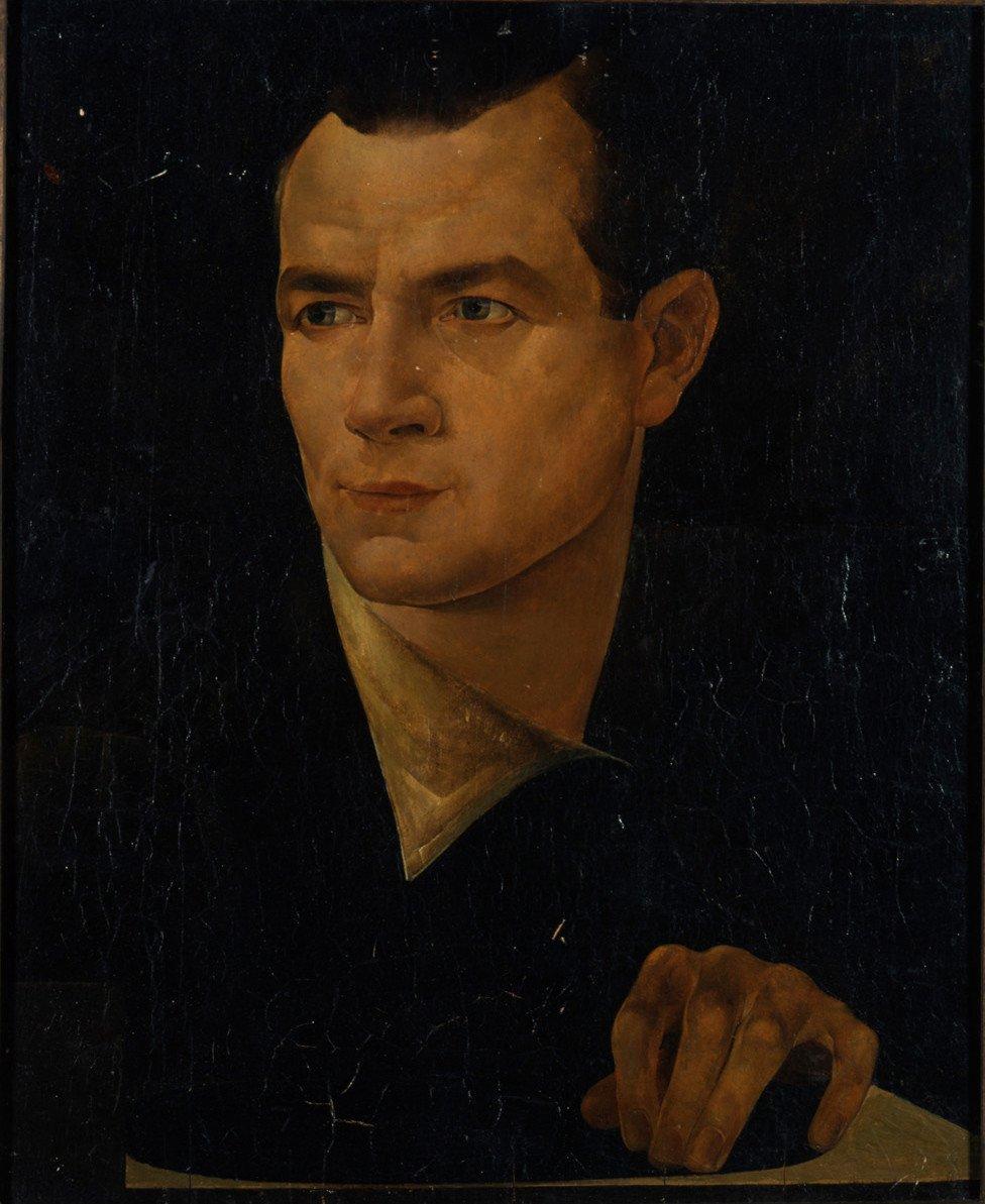 Iwan Babij · Selbstbildnis
