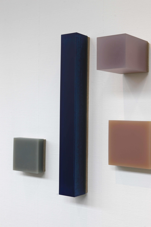 H 821 N, 2005, Pigment und Bindemittel auf Holz; Leihgabe des Förderkreises für die Kunsthalle Mannheim e.V. seit 2005; © VG Bild-Kunst, Bonn 2015