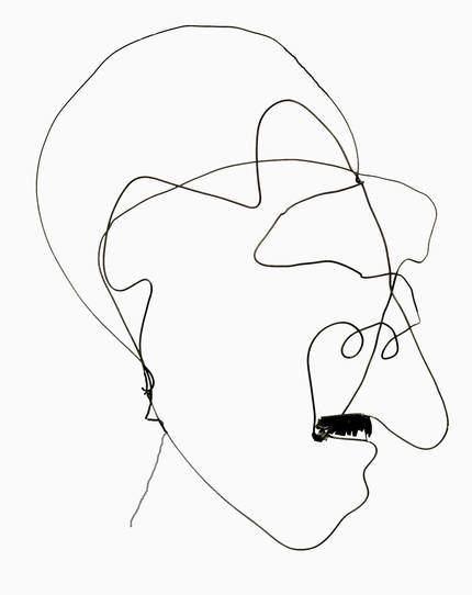 elbstbildnis aus Draht, um 1959, Draht; Leihgabe des Förderkreises für die Kunsthalle Mannheim e.V. seit 2007; Schenkung aus Privatbesitz Mannheim; © Kunsthalle Mannheim