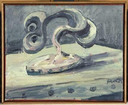 Blumenstillleben No. 242, 2004, Öl auf textilem Bildträger; Leihgabe des Förderkreises für die Kunsthalle Mannheim e.V.; © VG Bild-Kunst, Bonn 2013
