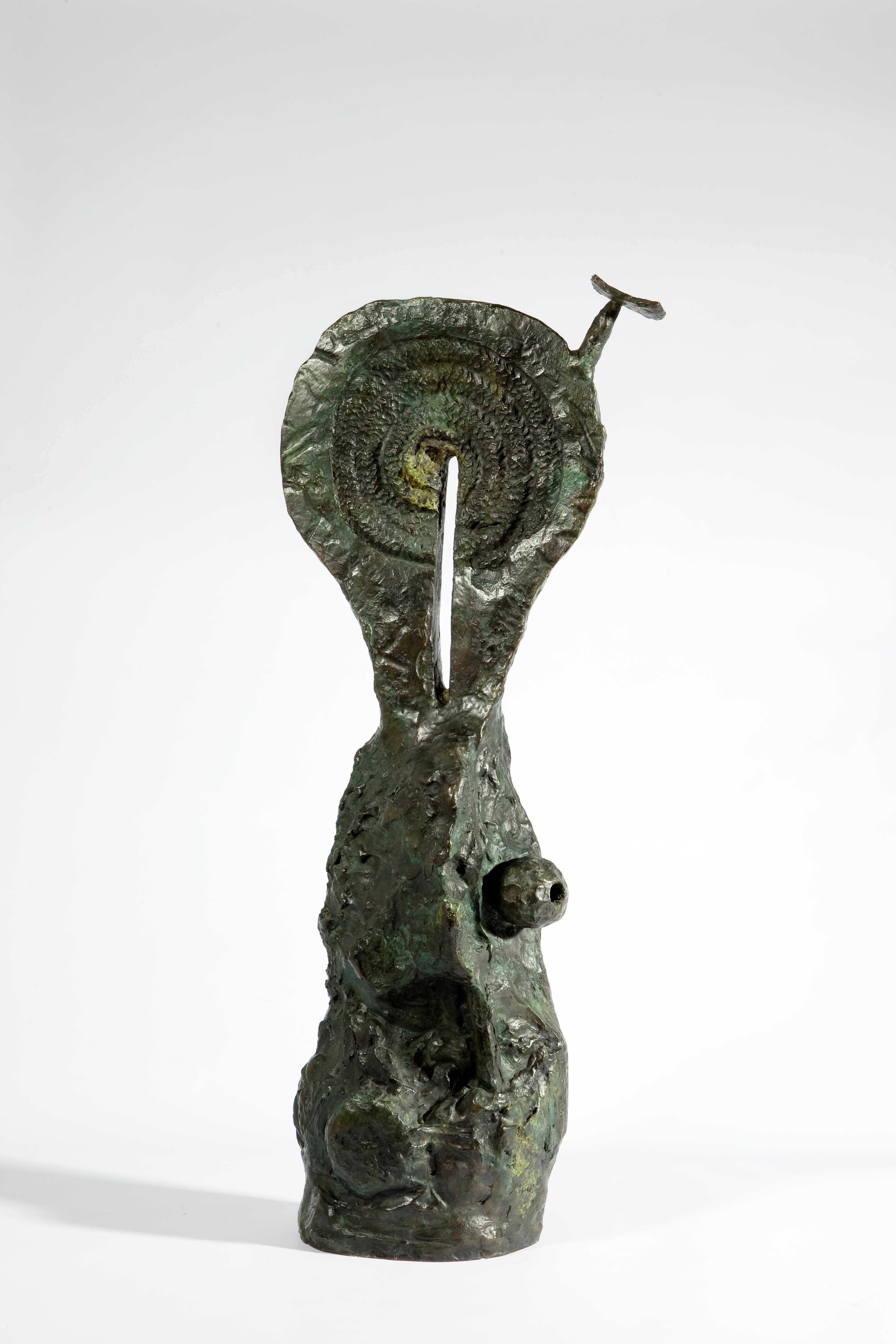 Femme au chapeau, 1972, Bronze; Exemplar 2/2; Leihgabe des Förderkreises für die Kunsthalle Mannheim e.V. seit 1996; gestiftet von Heinrich Vetter, Ilvesheim; © Successió Miró / VG Bild-Kunst, Bonn 2013